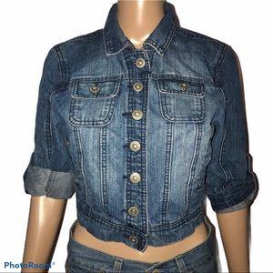 Highway Jeans roll tab sleeve denim jacket